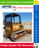 Thumbnail ☆☆ Best ☆☆ John Deere 550B Crawler Dozer, 555B Crawler Loader Technical Manual