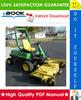 Thumbnail ☆☆ Best ☆☆ John Deere F912, F915, F935 Front Mowers Technical Manual