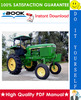 Thumbnail ☆☆ Best ☆☆ John Deere 4050, 4250, 4450 Tractors Technical Manual