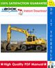 Thumbnail ☆☆ Best ☆☆ John Deere 595 Excavator Technical Manual