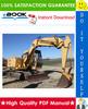 Thumbnail ☆☆ Best ☆☆ John Deere 70 Excavator Repair, Operation and Tests Technical Manual