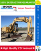 Thumbnail ☆☆ Best ☆☆ John Deere 70D Excavator Operation and Test Technical Manual