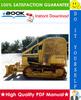 Thumbnail ☆☆ Best ☆☆ John Deere 400G Crawler Bulldozer Operation and Test Technical Manual