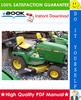 Thumbnail ☆☆ Best ☆☆ John Deere 240, 245, 260, 265, 285, 320 Lawn & Garden Tractors Technical Manual