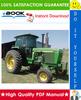 Thumbnail ☆☆ Best ☆☆ John Deere 4055, 4255, 4455 Tractors Operation & Tests Technical Manual