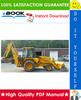 Thumbnail ☆☆ Best ☆☆ John Deere 410B, 410C, 510B, 510C Backhoe Loaders Repair Technical Manual