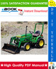 Thumbnail ☆☆ Best ☆☆ John Deere 670, 770, 790, 870, 970, 1070 Compact Utility Tractors Technical Manual