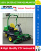 Thumbnail ☆☆ Best ☆☆ John Deere 2243 Gas Professional Greensmower Technical Manual