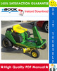 Thumbnail ☆☆ Best ☆☆ John Deere GX70, GX75, GX85, SX85, GX95, SRX75, SRX95 Riding Mowers Technical Manual