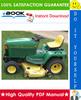 Thumbnail ☆☆ Best ☆☆ John Deere 425, 445, 455 Lawn & Garden Tractors Technical Manual