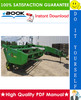 Thumbnail ☆☆ Best ☆☆ John Deere 820 Mower-Conditioner Technical Manual