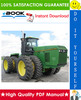 Thumbnail ☆☆ Best ☆☆ John Deere 8570, 8770, 8870, 8970 Tractors Operation and Tests Technical Manual