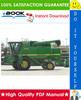 Thumbnail ☆☆ Best ☆☆ John Deere 9410, 9510, 9610 Combines Diagnostics & Tests Technical Manual