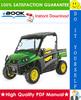 Thumbnail ☆☆ Best ☆☆ John Deere XUV 620i Gator Utility Vehicle Technical Manual