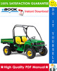 Thumbnail ☆☆ Best ☆☆ John Deere XUV 850D Gator Utility Vehicle Technical Manual
