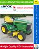 Thumbnail ☆☆ Best ☆☆ John Deere GT225, GT235, GT235E, GT245 Garden Tractors Technical Manual