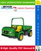 Thumbnail ☆☆ Best ☆☆ John Deere ProGator 2020, 2030 Utility Vehicle Technical Manual