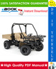 Thumbnail ☆☆ Best ☆☆ John Deere Gator Utility Vehicles M-Gator Technical Manual