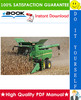 Thumbnail ☆☆ Best ☆☆ John Deere GreenStar 50 Series Combine Yield Monitor & Mapping Technical Manual