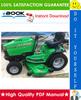 Thumbnail ☆☆ Best ☆☆ John Deere 1948GV/HV, 2148HV, 2354HV, 2554HV Sabre Yard & Garden Tractors Technical Manual