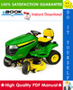 Thumbnail ☆☆ Best ☆☆ John Deere SST15, SST16, SST18 Spin-Steer Lawn Tractor Technical Manual
