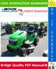 Thumbnail ☆☆ Best ☆☆ John Deere 14.542GS, 1642HS, 17.542HS Sabre Lawn Tractor Technical Manual