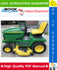 Thumbnail ☆☆ Best ☆☆ John Deere GX255, GX325, GX335, GX345 Garden Tractors Technical Manual