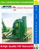 Thumbnail ☆☆ Best ☆☆ John Deere 50 FORAGE BLOWER Service Repair Manual