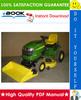 Thumbnail ☆☆ Best ☆☆ John Deere G100, G110 Garden Tractors Technical Manual
