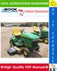 Thumbnail ☆☆ Best ☆☆ John Deere LX280, LX280AWS, LX289 Garden Tractors Technical Manual