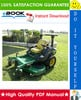 Thumbnail ☆☆ Best ☆☆ John Deere 737, 757 Mid-Frame Z-Trak Mower Technical Manual
