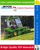 Thumbnail ☆ High-Quality ☆ John Deere 1905 Large Area Reel Mower Technical Manual