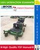 Thumbnail ☆ High-Quality ☆ John Deere G15 Professional Walk-Behind Mower Technical Manual