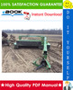 Thumbnail ☆☆ Best ☆☆ John Deere 1350, 1360, 1460, 1470 Mower-Conditioners Technical Manual