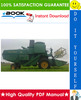 Thumbnail ☆☆ Best ☆☆ John Deere 360, 330, 430, 530, 630, 730 Combines Technical Manual