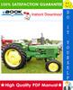 Thumbnail ☆☆ Best ☆☆ John Deere 1020, 1120, 1630 Tractors Technical Manual