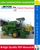 Thumbnail ☆☆ Best ☆☆ John Deere Combines Technical Manual (TM4387)