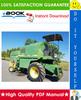 Thumbnail ☆ High-Quality ☆ John Deere 1032, 1042, 1052, 1055 Combines Technical Manual