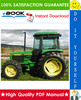 Thumbnail ☆☆ Best ☆☆ John Deere 2355, 2555, 2755, 2855N Tractors Technical Manual