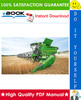 Thumbnail ☆☆ Best ☆☆ John Deere 810, 812, 812SH, 814, 814SH, 816, 816SH, 818, 820 Cutting Platforms, 483, 583, 683 Corn Heads Technical Manual