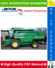Thumbnail ☆☆ Best ☆☆ John Deere 2054, 2056, 2058, 2064, 2066 Combines Technical Manual