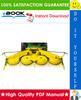 Thumbnail ☆☆ Best ☆☆ John Deere 676 Rotary Harvesting Unit Technical Manual