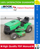 Thumbnail ☆☆ Best ☆☆ John Deere Sabre Lawn Tractor Technical Manual