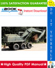 Thumbnail ☆☆ Best ☆☆ John Deere 690DR Excavator Technical Manual