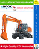Thumbnail ☆☆ Best ☆☆ Hitachi ZAXIS 170W-3, ZAXIS 190W-3 Wheeled Excavator Service Repair Manual