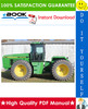 Thumbnail ☆☆ Best ☆☆ John Deere 8560, 8760, 8960 Tractors Repair, Operation and Tests Technical Manual