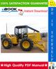 Thumbnail ☆☆ Best ☆☆ John Deere 340D and 440D Skidders, 448D Grapple Skidder Repair, Operation and Tests Technical Manual