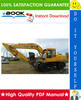 Thumbnail ☆☆ Best ☆☆ John Deere 595D Excavator Repair, Operation and Tests Technical Manual