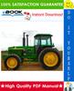 Thumbnail ☆☆ Best ☆☆ John Deere 4555, 4755, 4955, 4560, 4760, 4960 Tractors Repair, Operation and Tests Technical Manual