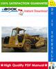 Thumbnail ☆☆ Best ☆☆ John Deere 762B, 862B Scraper Repair, Operation and Tests Technical Manual